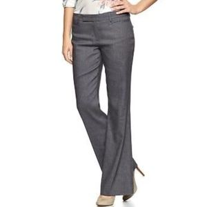 NWT: Gap Modern Boot Linen Blend Pants